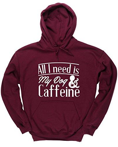 hippowarehouse-all-i-need-is-my-dog-caffeine-unisex-hoodie-hooded-top