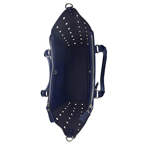 U.S.POLO ASSN. Handtasche mit Schulterriemen 30-46x13.5x27 cm Marine