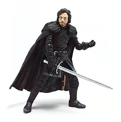 Funko 3908 Game of Thrones Toy - Jon Snow Deluxe Collectable Action Figure - Knights Watch 4