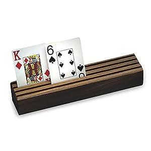 Hardwood Card Holder by S&S Worldwide