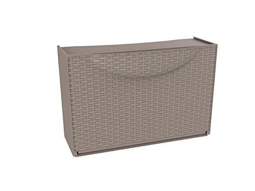 Terry Harmony Box Cerrado Gris zapatero - Zapateros (Cerrado, Gris, 510 mm, 390 mm, 190 mm, 1200 mm)