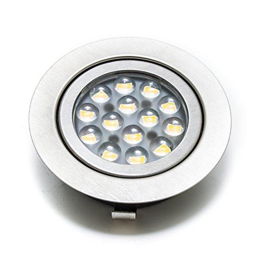 Faretto led incasso 3w slim luce cappa cucina mensole 220v sostituzione alogena - Luce Bianco freddo