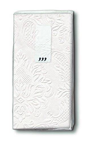 100 Taschentücher Ornament Perlmut Hochzeit, Freudentränen 100 Stück(10x10) geprägt Moments ornaments perlmutt …