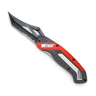 Crescent Wiss WKFPNS1EU Edelstahl-Klappmesser/Taschenmesser mit Titanbeschichtung