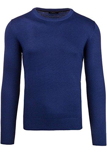 BOLF Herrenpullover Pulli Sweatshirt Sweatjacke Sweater Top MIX Dunkelblau_891