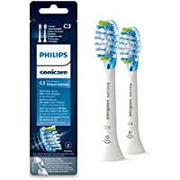 Philips Sonicare HX9042/17 - Pack de dos cabezales control de placa, con tecnología RFID para Diamond Clean Smart, color blanco