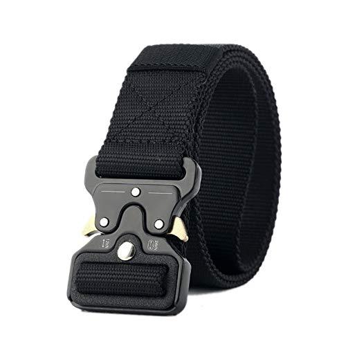 Arm-gurt (PIDAIKING Gürtel Unisex Nylon Metalleinsatz Schnalle Militärische Ausbildung Aus Nylon Gurt Armee Taktische Gürtel Für Männer Männliche Gurt, 150 cm.)