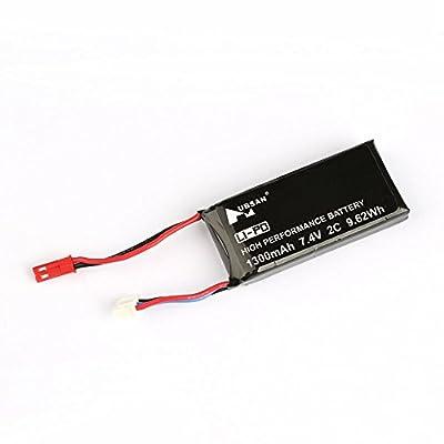 Hubsan H501S H502S H109S H901A 7.4V 1400mAh Lipo Rechargeable Battery Transmitter