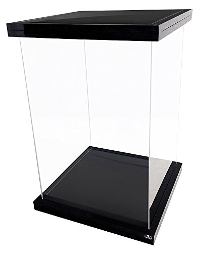 Ultimate Guard UGD030002 - Supreme Display Case für 1/6 Actionfiguren, Black Magnetic Edition