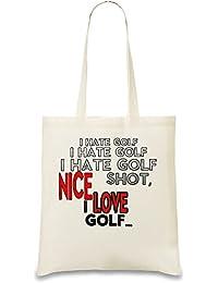 I Love Golf Tasche