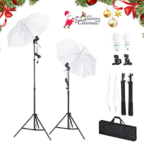 Amzdeal Kit de Studio Photo Plia...