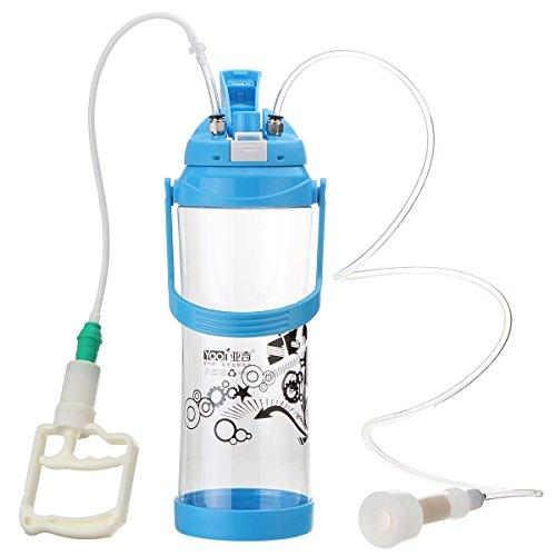 Preisvergleich Produktbild GOZAR 3L Portable Melkmaschine Kleinen Haushalt Ziegenmilch Saugen Werkzeuge Mit Flasche