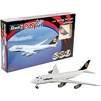 Revell Modellbausatz Flugzeug 1:288 - Boeing 747 'Lufthansa' easykit im Maßstab 1:288, Level 2, originalgetreue Nachbildung mit vielen Details, Zivilflugzeug, Passagierflugzeug, 06641