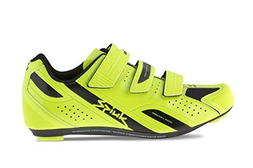 Spiuk Rodda Road Chaussures de sport unisexe Jaune/noir