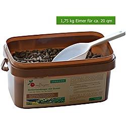 Organisch-mineralischer BIO-Dünger mit Guano – als Gemüse-Dünger, Kräuter-Dünger und Obst-Dünger sorgt der Pflanzen-Dünger für ein langzeitiges Wachstum (N-P-K 8:4:6) - Größen: 0,6, 1,75, 4 kg