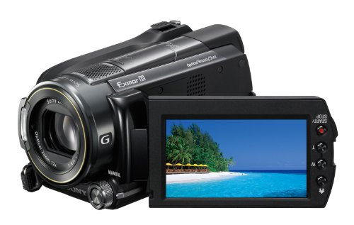Sony HDR-XR520VE HD-Camcorder (Memory Stick, 12-fach optischer Zoom, 240 GB interner Speicher, 8,1 cm (3,2 Zoll) Display, Bildstabilisator, Touchscreen, Geotagging) schwarz