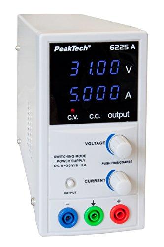 PeakTech 6225 A Stromversorgung