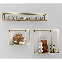 suchergebnis auf f r wandregal gold k che haushalt wohnen. Black Bedroom Furniture Sets. Home Design Ideas