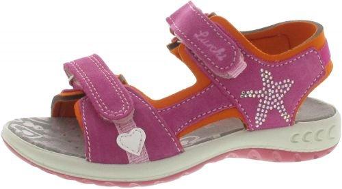 Lurchi Sandalette Fia Größe 27, Farbe: pink
