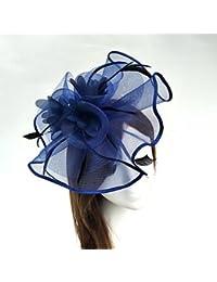 Amazon.es  tocado fucsia boda - Sombreros y gorras   Accesorios  Ropa 69b5ab909ae
