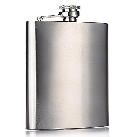 MUKE 8 OZ Flasque Hip Flask en Acier Inoxydable