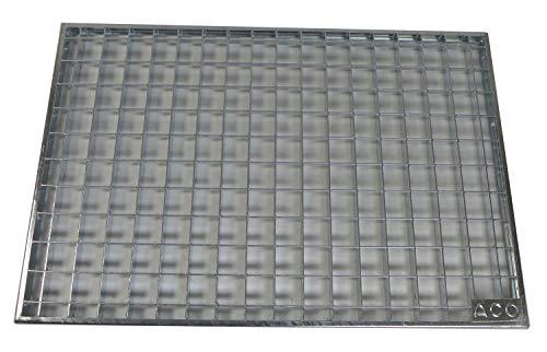 ACO 75x50x2cm Maschenrost 30/30 Gitterrost Eingangsrost Normrost Abstreifer Rost verzinkt -