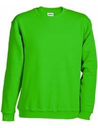 JAMES & NICHOLSON Sweatshirt Round Heavy Üg - Sweat-Shirt - Homme