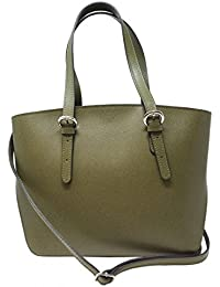 caae1a0eb1909 Dream Leather Bags Made in Italy toskanische echte Ledertaschen Echtes Leder  Shopper Farbe Grün - Italienische
