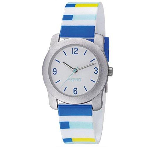 Esprit Uhr Mini Infinity Jungenuhr Kunststoff Kinderuhr Buntstifte ES000U64049