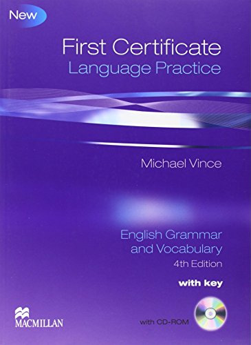 First Certificate Language Practice: Student Book Pack with Key by Michael Vince (5-Mar-2009) Paperback