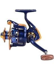 Carrete de la pesca Carretes para pesca spinning 5.21 12 Rodamientos de bolas IntercambiablePesca de baitcasting Pesca en hielo Pesca al , 1000