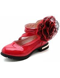 a01f9bffcc36a Scarpe Bambina Ragazze Mary Jane Basse Ballerine Principessa Anti Scivolo