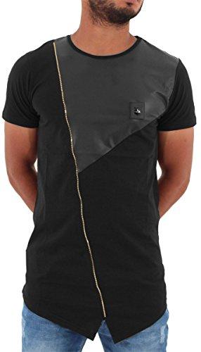 TIME IS MONEY Herren T-Shirt Schwarz