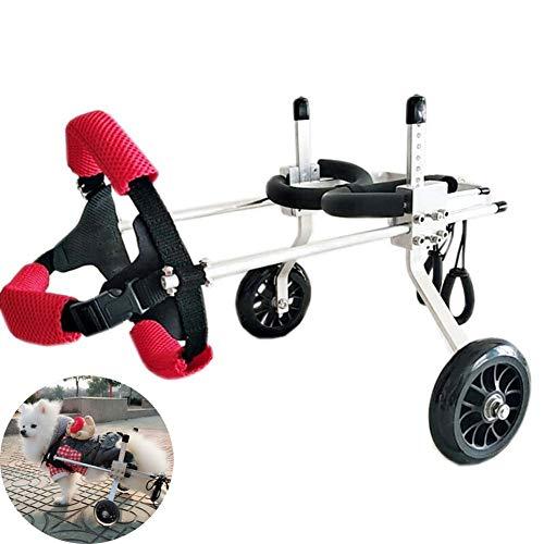 Hund Rollstuhl, Haustier Reha-Training Auto Hund Hinterbeinantrieb Rollstuhl Roller Hinterglied Behinderte, Hundewagen, Räder Bauch senden,s