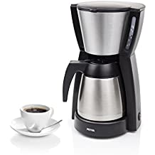 Petra Coffee Maker Belluno Thermo KM52.58 Cafetera Termo de Acero Inoxidable para 10-