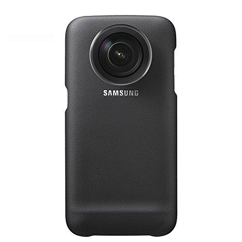 Samsung Lens Cover- Funda oficial para Samsung Galaxy S7 Edge, color negro