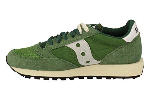 GREEN SCARPA JAZZ SAUCONY S70321-4 Verde