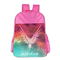 Parrot Logo Kids School Backpack Carry Bag for Girls Boys