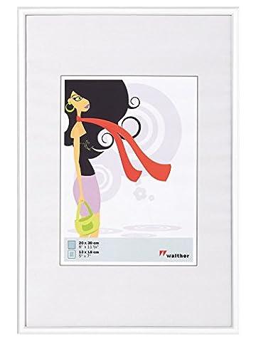walther design KV426W New Lifestyle Kunststoff-Rahmen Wohnaccessoires und Deko , 42 x 59,4 cm,