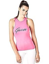 107baec7a20 Amazon.fr   Débardeur Guess Femme   Vêtements