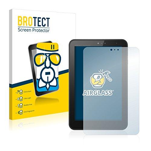 BROTECT Panzerglas Schutzfolie für HP Pro Tablet 408 G1 - Flexibles Airglass, 9H Härte