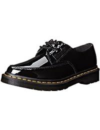 Dr Martens Belladonna BLACK Patent–Chaussures de Femme Noires en peinture