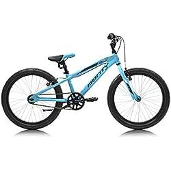Monty 105 Bicicleta, Unisex Niños, Azul, Talla Única