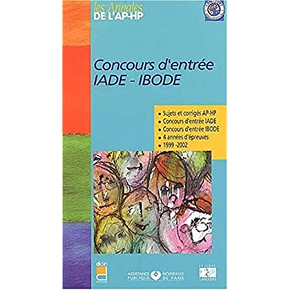 CONCOURS D ENTREE IADE/BODE NOUVELLE EDITION