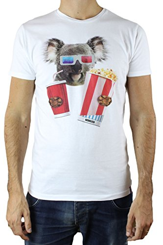 French Kick -  T-shirt - Uomo bianco Small