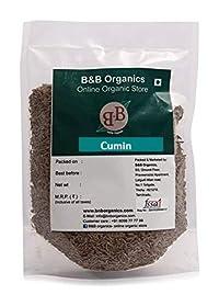 B&B Organics Cumin/Jeera Seed, 250 Grams
