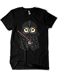 Camiseta Negra - Minions Vader