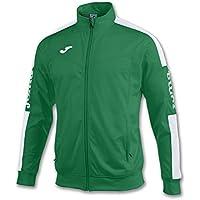 Joma 100687.452 Sudadera, Hombre, Verde/Blanco, XL
