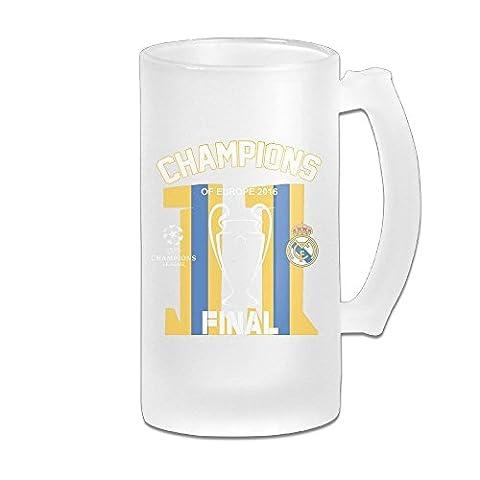 MeiSXue 2.#11 Real Madrid UEFA Champions Beer Mug