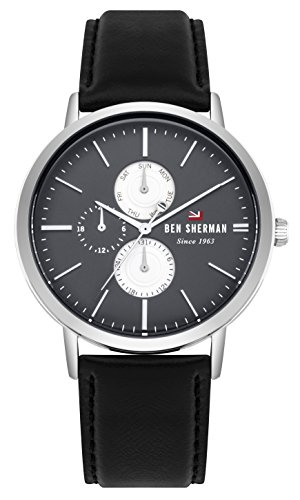 Ben Sherman Reloj Análogo clásico para Hombre de Cuarzo con Correa en Cuero WBS104B